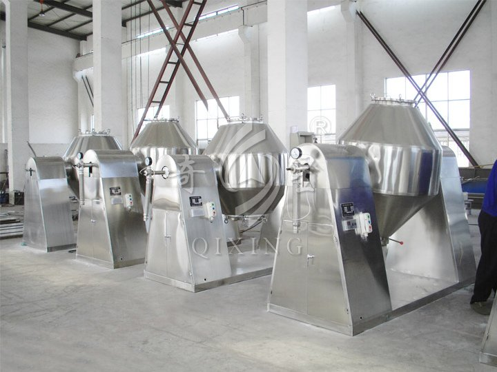 SZG Series Double-cone Rotary Vacuum Dryer